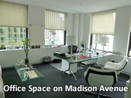 madison ave office space for rent