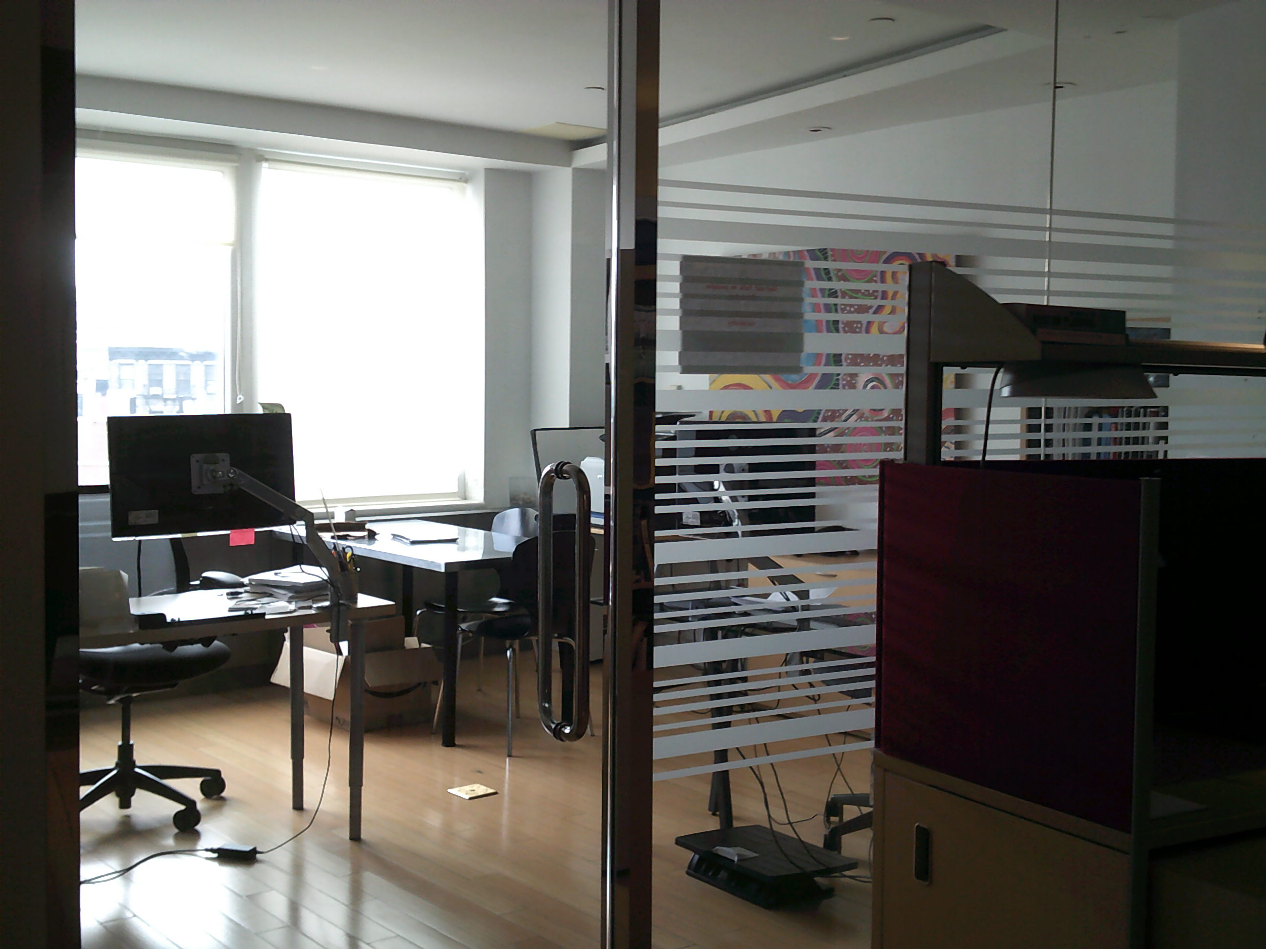 ... Private Office Space Within Commercial Loft ...