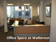 wallstreet office space for rent